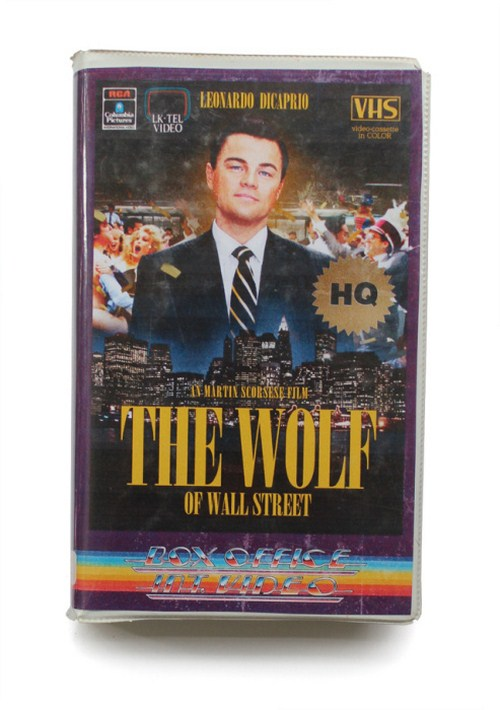 The wolf of wall street VHS
