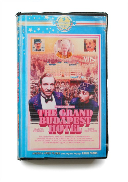 The grand Budapest hotel VHS