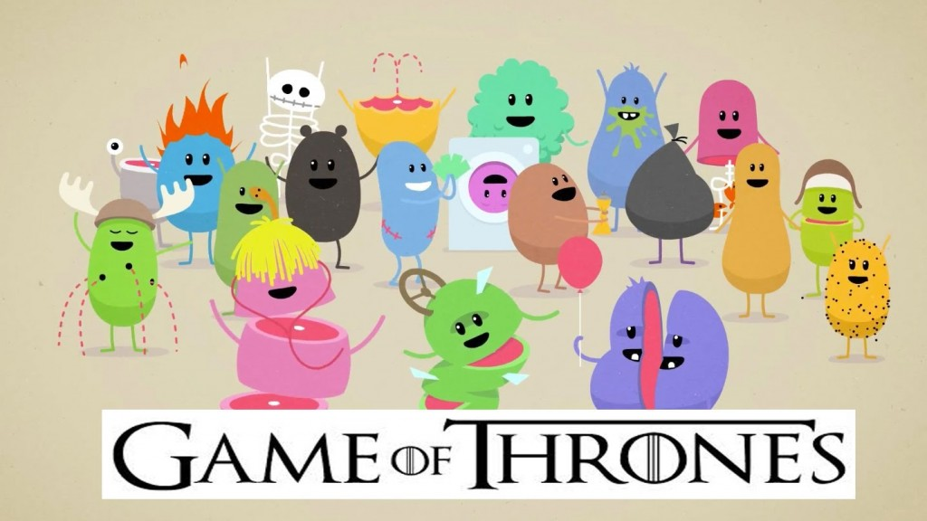 Dumb ways to die game of thrones