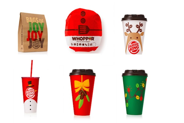 packaging navidad burger king